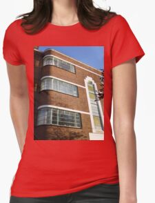 London Deco: Oman Court 3 Womens Fitted T-Shirt