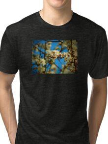 Close Up Blossom Tri-blend T-Shirt