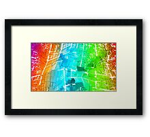 Flying High - Abstract CG Framed Print
