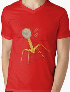T1 Mechanovirus Mens V-Neck T-Shirt