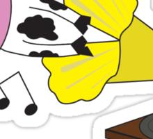 Rockin' It Like A Cow Sticker