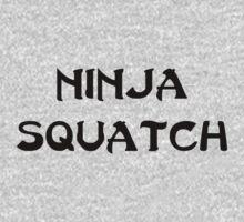 Ninja Squatch One Piece - Long Sleeve