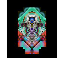 Leon Russell Upside-Down Art by L. R. Emerson II, Series 1 Photographic Print