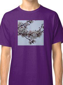 Spring Blossom Grey Sky Classic T-Shirt