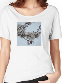 Spring Blossom Grey Sky Women's Relaxed Fit T-Shirt