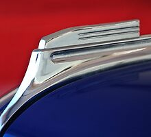 1938 Oldsmobile RJ8 Club Coupe Hood Ornament by Jill Reger