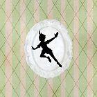 Peter Pan Lace Silhouette by joshda88