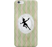 Peter Pan Lace Silhouette iPhone Case/Skin