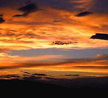 Winnemucca sunset by DonActon
