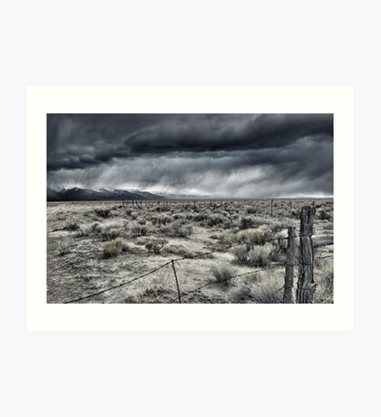 Storms Over The San Luis Valley Art Print