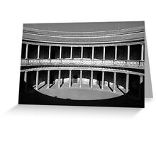Alhambra Shadow Greeting Card