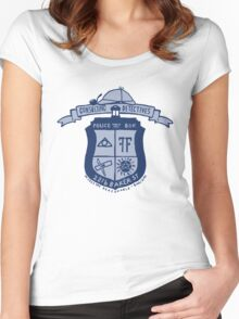 Consulting detectives  Women's Fitted Scoop T-Shirt
