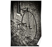 Penny Farthing - Monte Cristo Poster