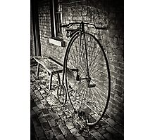 Penny Farthing - Monte Cristo Photographic Print