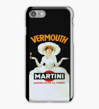 Martini Vermouth iPhone Case/Skin