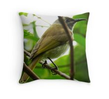 Garden Bird Throw Pillow