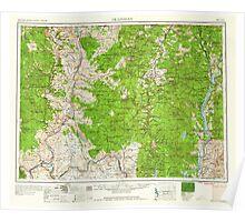 USGS Topo Map Washington State WA Okanogan 239713 1958 250000 Poster