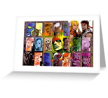 Fight for the Future- Street Fighter 3 Greeting Card