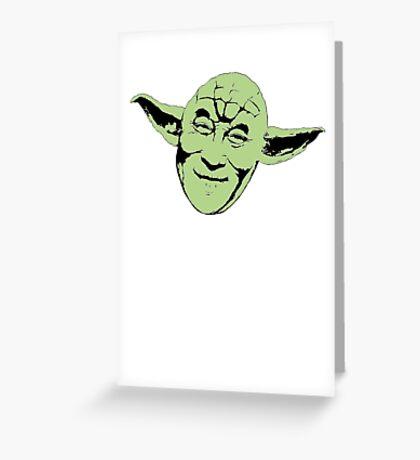 Dalai Yoda Greeting Card