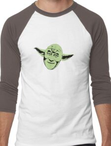 Dalai Yoda Men's Baseball ¾ T-Shirt