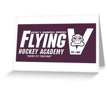 Flying V Hockey Academy Greeting Card