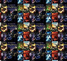 Harry Potter book jackets by BURPdesigns