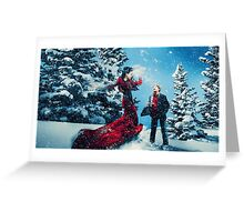 Christmas - Regina & Henry Greeting Card