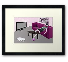 Sudden Death Framed Print
