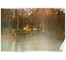 Mapledurham Mill Oxfordshire Poster