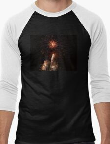Fireworks Men's Baseball ¾ T-Shirt