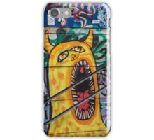Yellow Scream iPhone Case/Skin