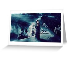 Christmas - Winter Queen Greeting Card