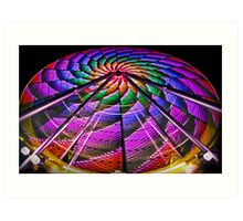 Wind Mill or Ferris Wheel? Art Print