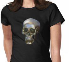 Golden SKULL Womens Fitted T-Shirt