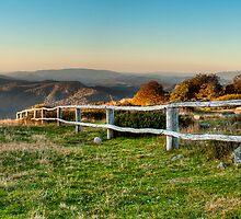Craigs Hut Panoramic  by Gavin Poh