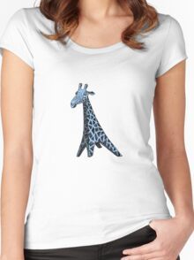Blue Giraffe Women's Fitted Scoop T-Shirt