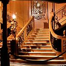 Titanic Staircase by Robyn Forbes