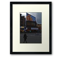 Times are changing--- Framed Print