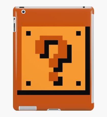 Mario Item Block  iPad Case/Skin