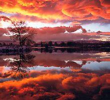 Rolling Thunder Sunset by nikongreg