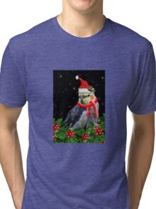 A Very Berry Christmas Tri-blend T-Shirt