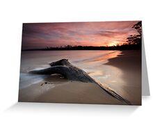 Randalls Bay Sunset #10 Greeting Card