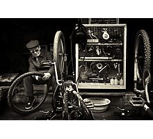 The Bicycle Man #0102 Photographic Print