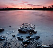 Randalls Bay Sunset #11 by Chris Cobern