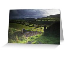 Dingle road Greeting Card