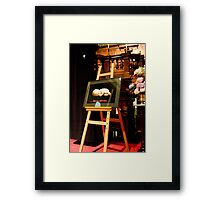 0334 Unto Us A child Is Born Framed Print