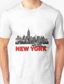 New York NYC River Police T-Shirt