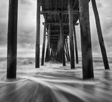 Cape Hatteras Outer Banks NC - Rodanthe Fishing Pier by Dave Allen