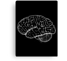 This Machine Kills Fascists (invert) Canvas Print