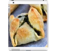 Delicious Pastry With Spinache iPad Case/Skin